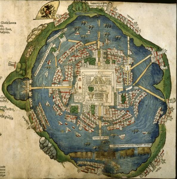 Tenochtitlan 1524