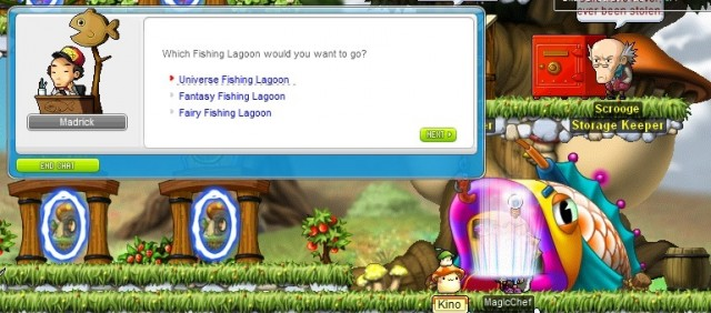 MapleStoryFishingLagoon
