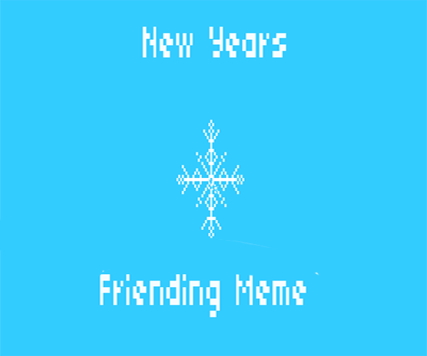 friending meme copy
