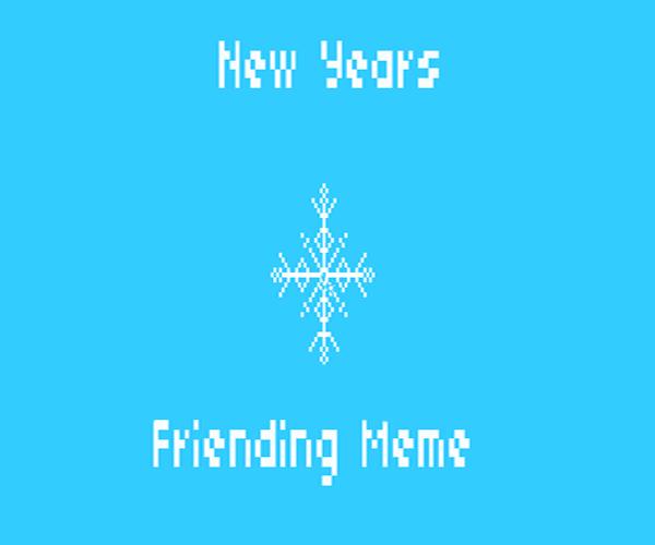 friending meme copy