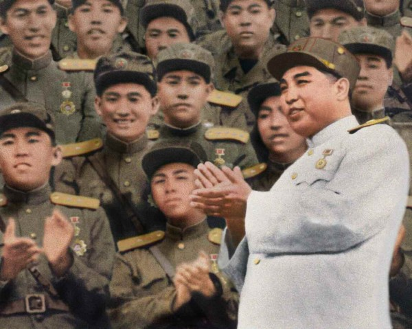 11. Великий Вождь товарищ Ким Ир Сен среди Героев Республики, август 1953 года