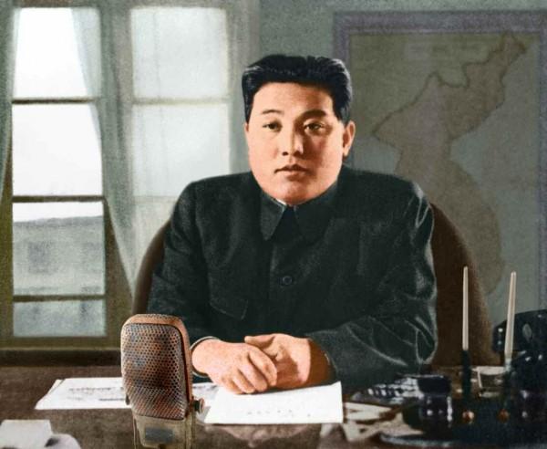 4. Великий Вождь товарищ Ким Ир Сен обращается с речью по радио ко всему корейскому народу, июнь 1950 года