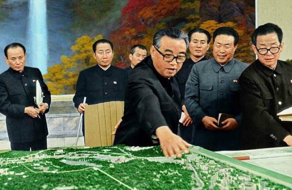 9. Великий Вождь товарищ Ким Ир Сен раскрывает великий замысел строительства столицы, ноябрь 1982 года