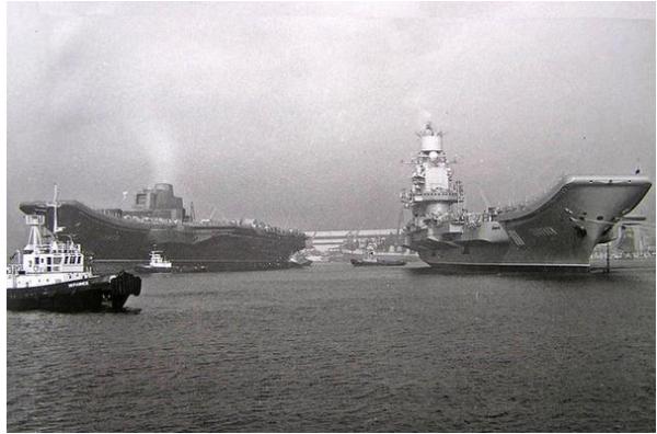 Советские авианосцы. Часть 2. Прерванное развитие
