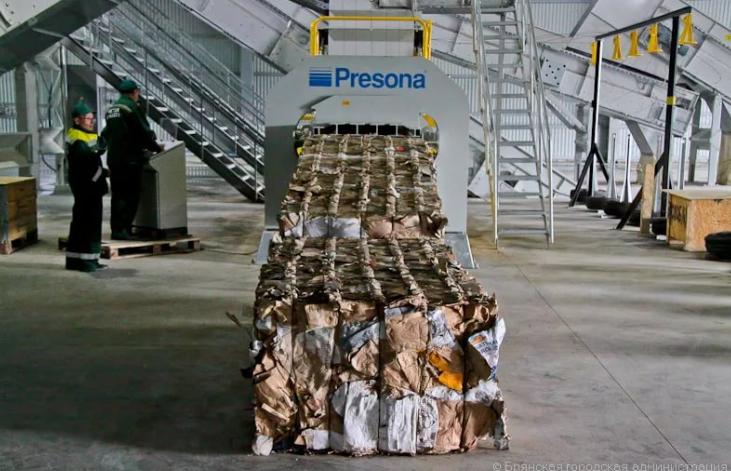 Система переработки мусора в швеции