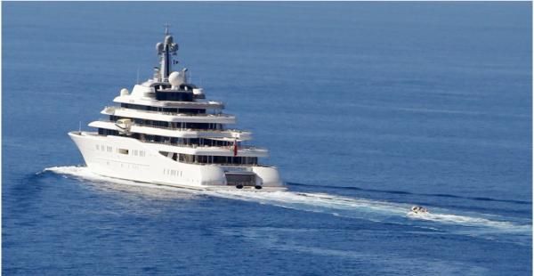 Красивая жизнь: российская бизнес-элита опередила американскую по длине яхт