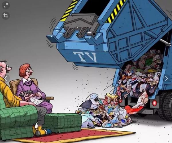 Каннибализм от федеральных телеканалов