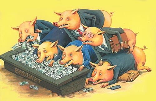 Коррупция-свиньи