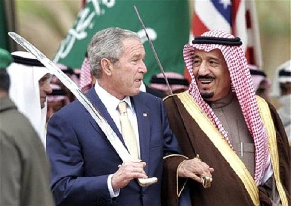 Буш и Саудит-мусульмане