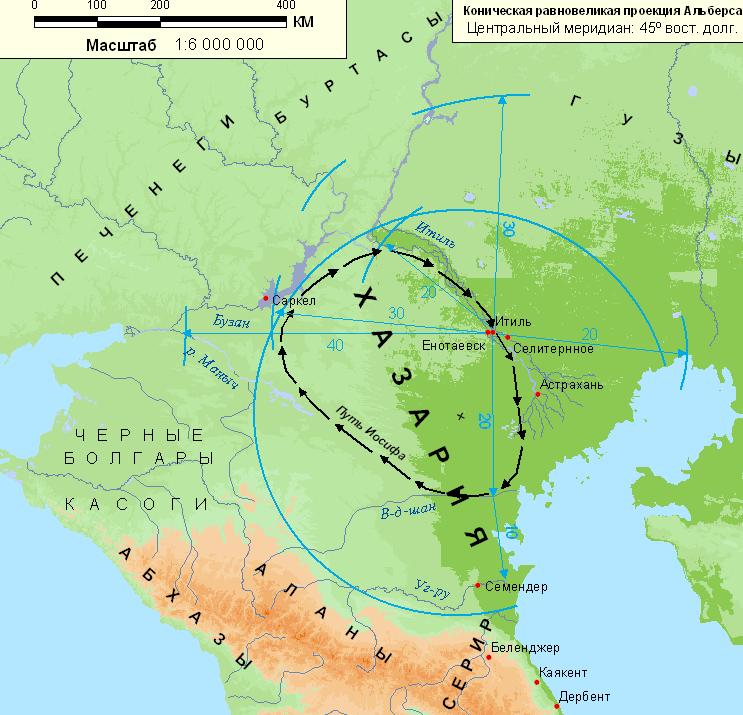 Хазария-Карта-главная
