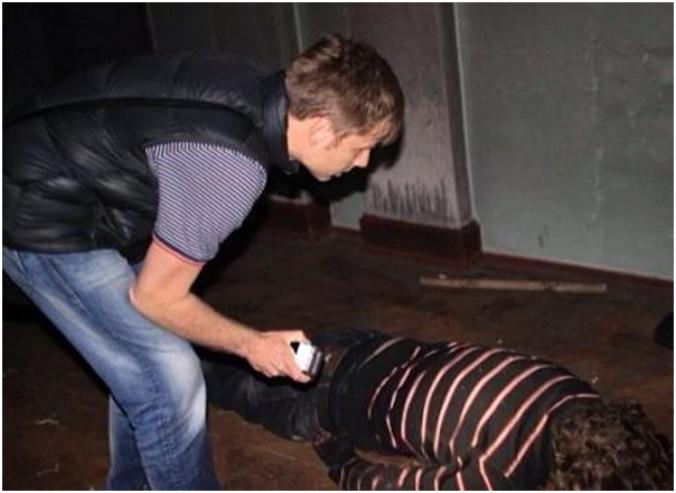 Гончаренко в Одессе-снимает трупы