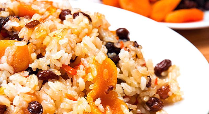 Рис с курагой для похудения