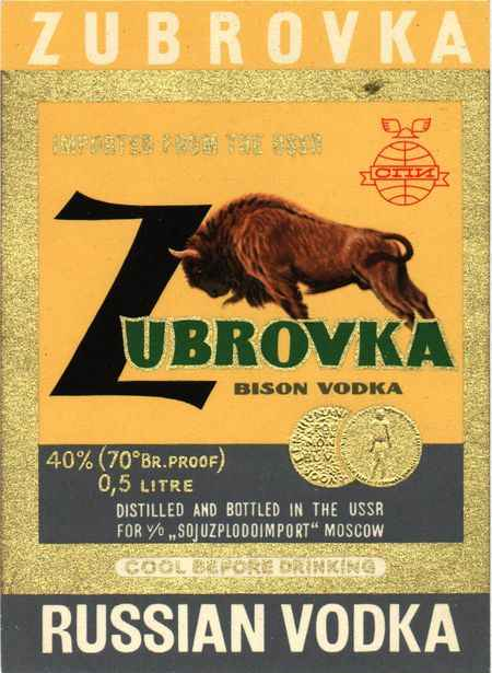 bison vodka