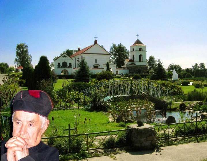 ксендз Юозас (Юзаф) Булька и костел св. Анны в деревне Мосар