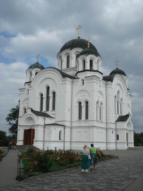 Полоцк. Крестовоздвиженский собор. 1893—97 гг