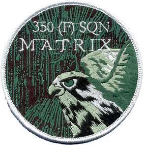 Бельгия, 350 эскадлилья F-16 Fighting Falcon