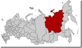 Карта России Якутия