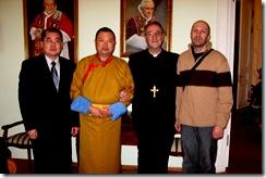 Шаджин-лама Калмыкии провел встречи с Главным раввином России и послом Ватикана в России