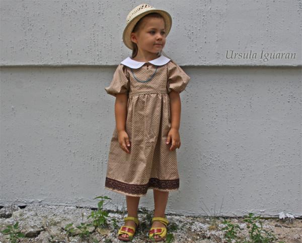 горох платье