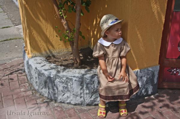 платье горох4