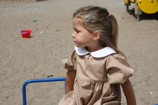 платье горох6