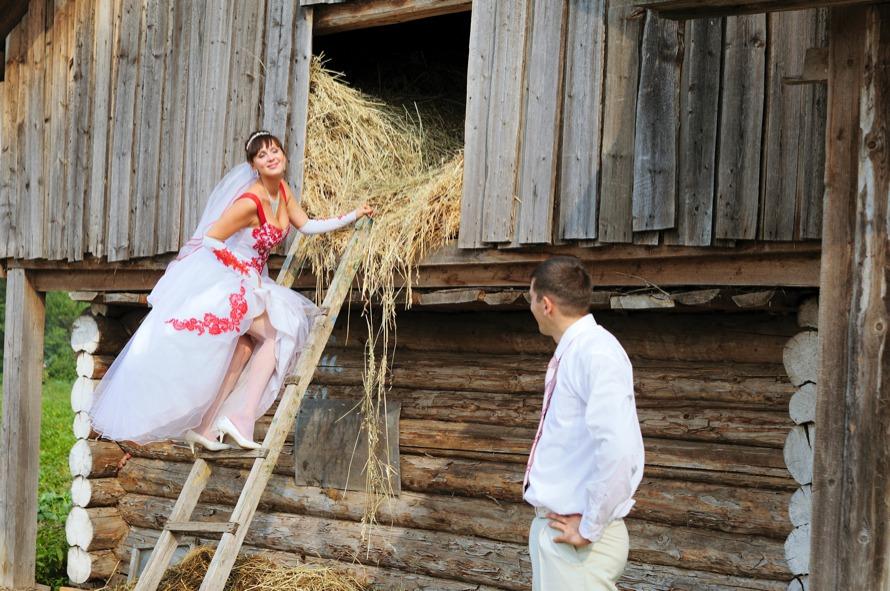 сделали подборку смешные фото сельских свадеб чаще