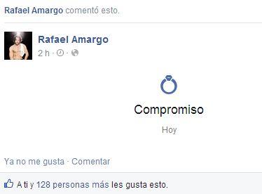 рафаэль амарго опять помолвлен