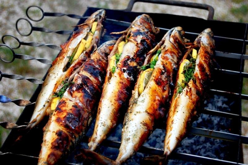 Шашлык из рыбы рецепты скумбрия