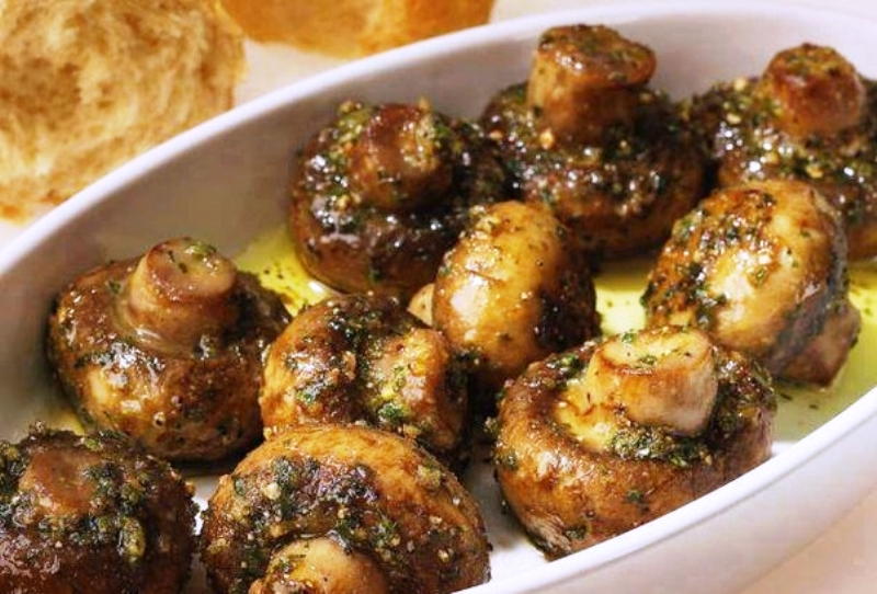 Жареные грибы шампиньоны рецепты в духовке
