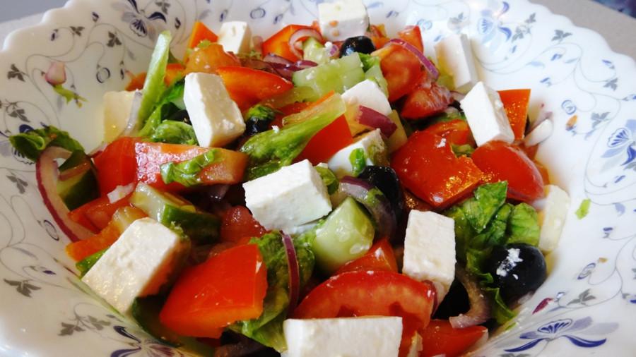 Салат без перца болгарского