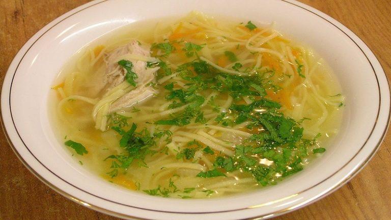 Суп лапша куриная в мультиварке рецепт с фото