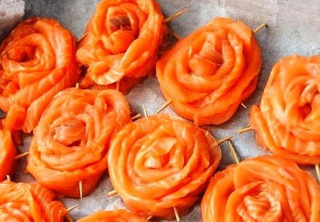 розы из сёмги1