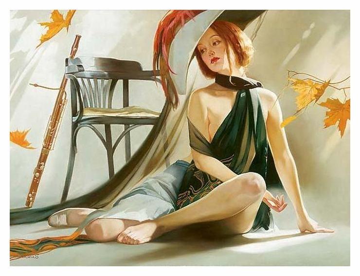 Осенняя женщина Светлана Валуева