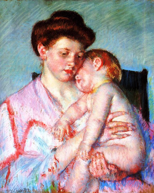 Мать и ребёнок  Мэри Кассат