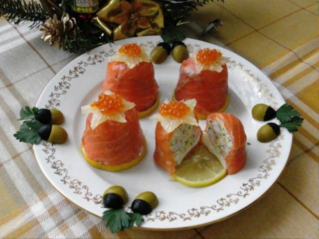 Рецепты с на новый год закуски