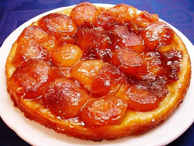 пирог перевертыш с абрикосами