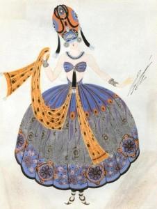 Девушка в восточном костюме 1924.jpg