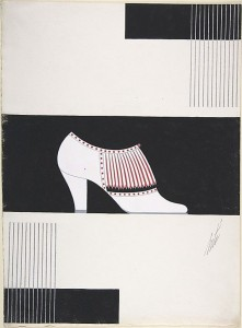 Дизайн белых женских туфель для торговой марки Делман.jpg
