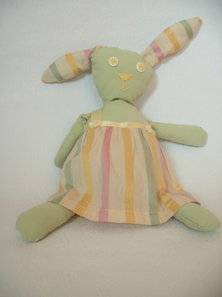 Isabella's bunny friend