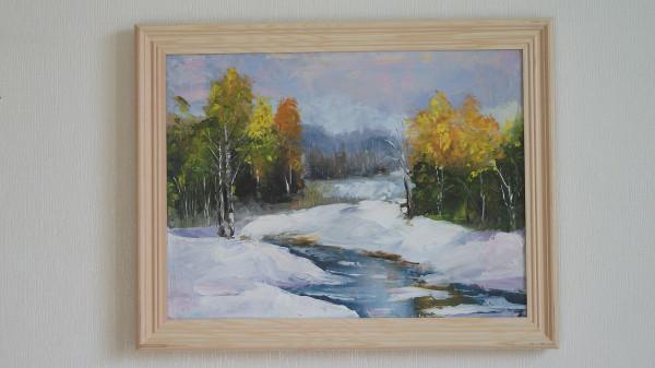 Осень... Свободная копия картины Левина