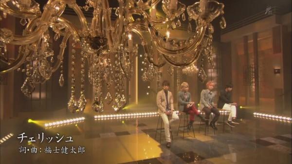 NEWS - Cherish (Shounen Club Premium 2013.09.18)