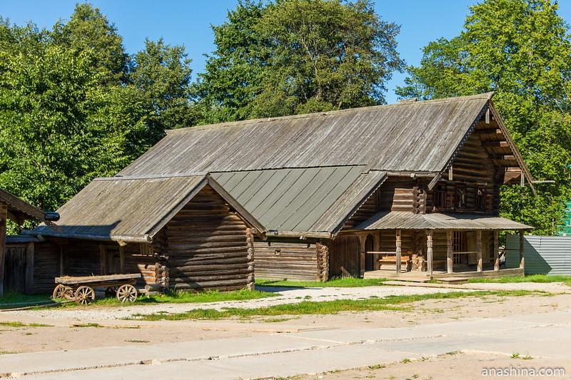 Изба Туницкого В.А. из деревни Пырищи Крестецкого района, 1870-1880 годы