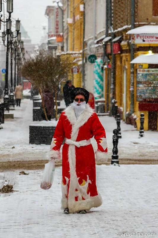 Дед Мороз на Большой Покровской