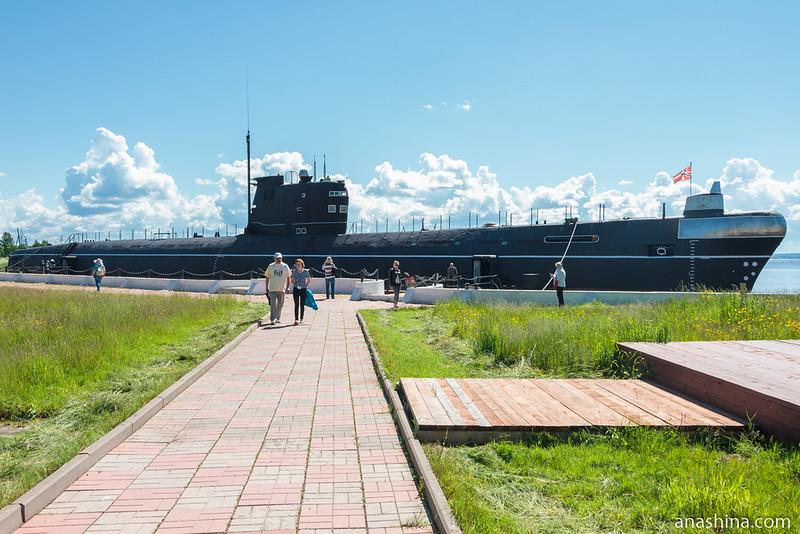 Подводная лодка Б-440 проект 641 в Вытегре