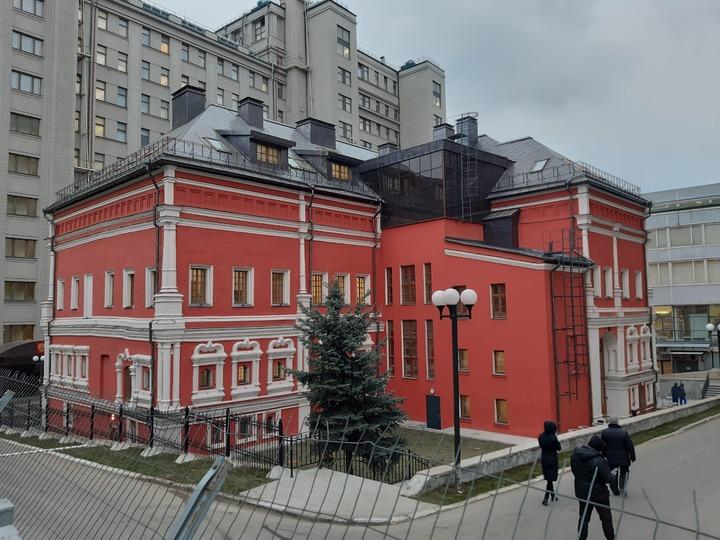 Палаты Троекуровых после реставрации. Фото из интернета