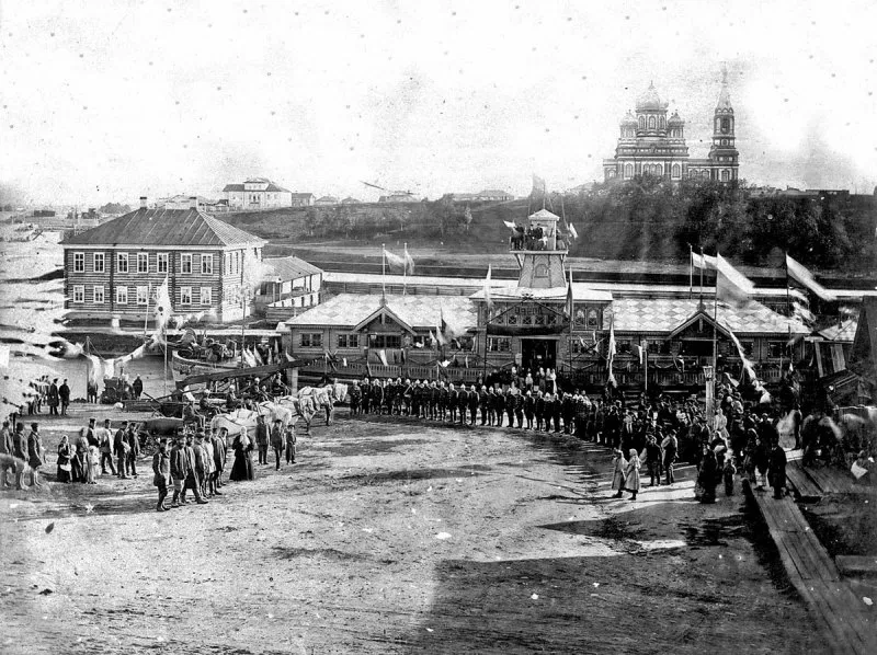 Вытегра в конце XIX века