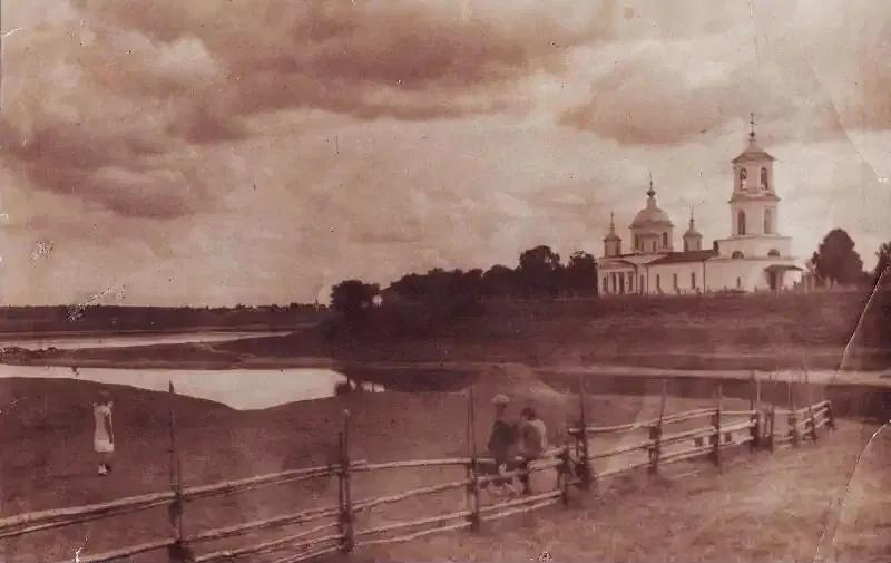 Церковь Воскресения Словущего, 1930 год. Источник: pastvu.com