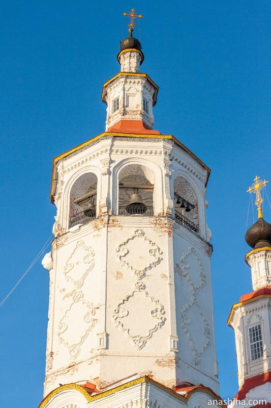 Колокольня Входоиерусалимской церкви