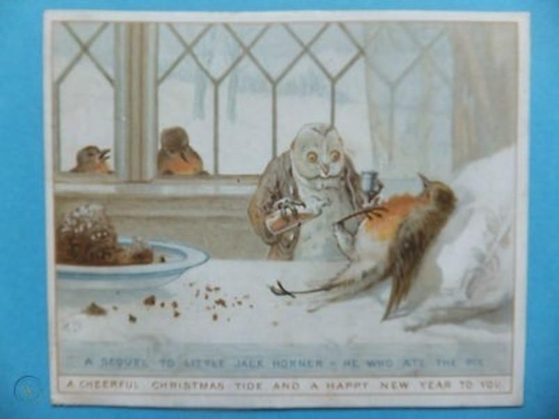 victorian-christmas-card-dr-owl-sick_360