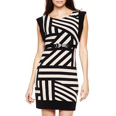 Bisou Bisou® Striped Shift Dress 1